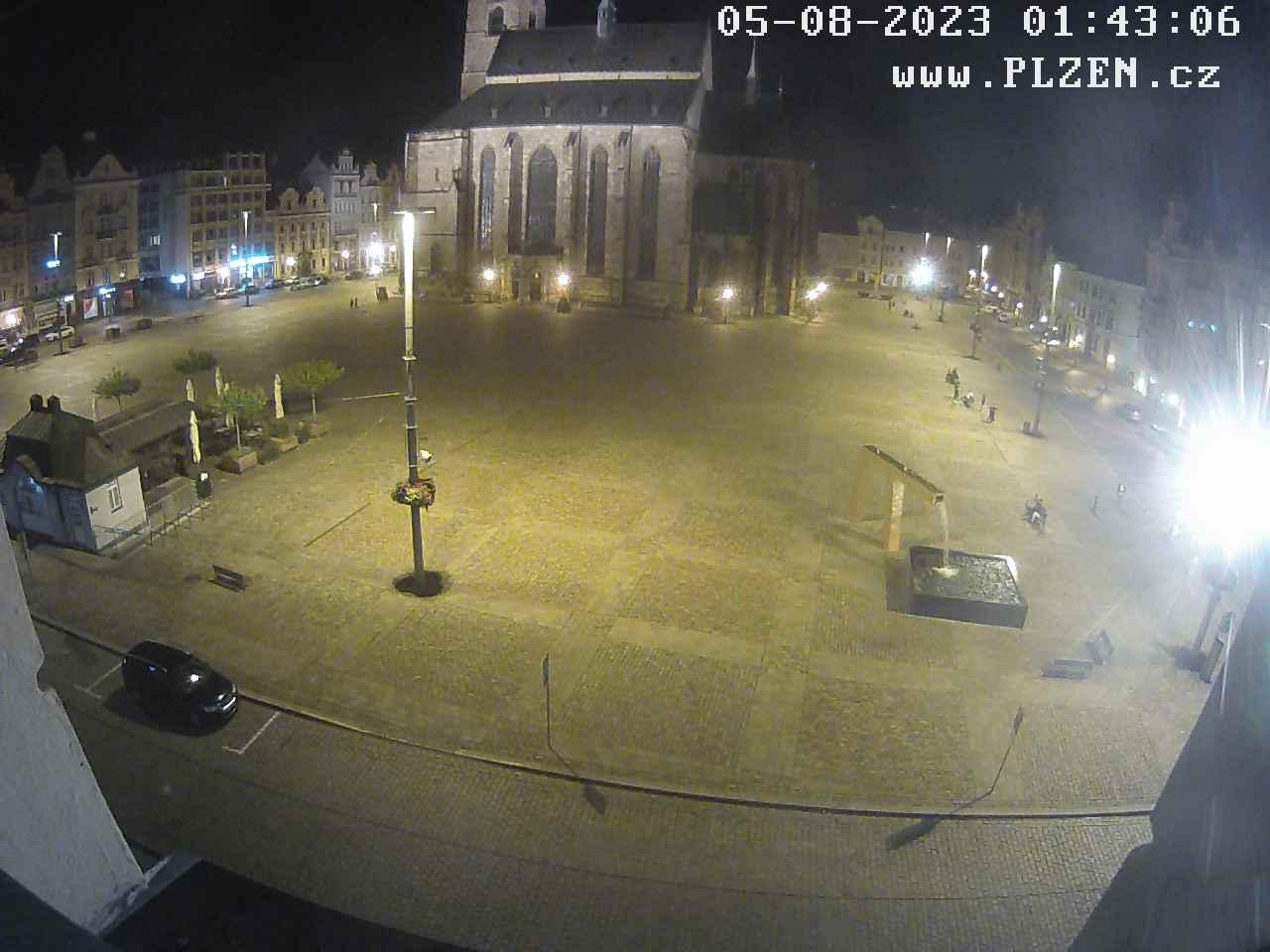 Webcam - Plzeň